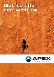 Apex Tool Group GmbH & Co. OHG, Westhausen, Germany - Power ...