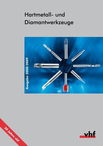 Hartmetall- und Diamantwerkzeuge - Carbide Tools