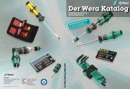 Der Wera Katalog Werkzeuge für bessere Arbeitsergebnisse.