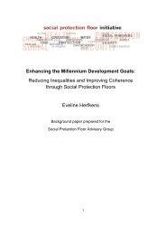 SPF & MDG Eveline - International Labour Organization