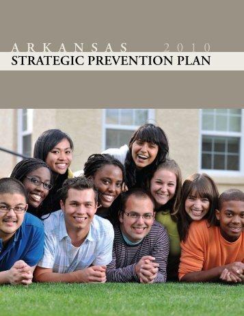 strategic prevention planning - Arkansas Department of Human ...