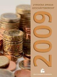Výročná správa PSS, a. s., za rok 2009 [3 - Prvá stavebná sporiteľňa