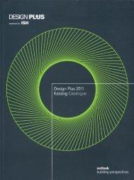 Page 1 Page 2 DESIGN PLUS Design Plus 2011 Katalog Catalogue ...