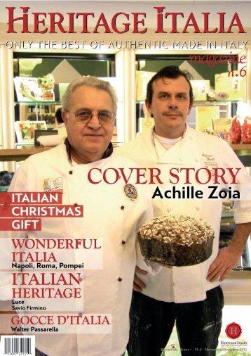 Heritage Italia Magazine No 6