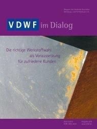 Vom Design über den... Prototyp bis zur Serie - VDWF