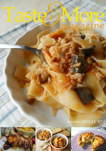 Taste und More - Rivista Numero 1