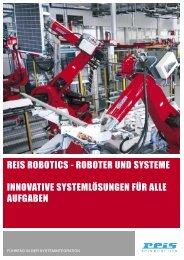 REIS ROBOTICS - ROBOTER UND SYSTEME INNOVATIVE ... - Exner