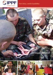 Annual Report - IPPF - International Planned Parenthood Federation