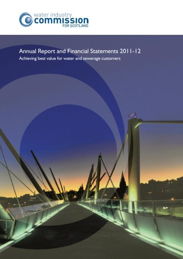 Annual Report and Financial Statements 2011-12 - Water Industry ...