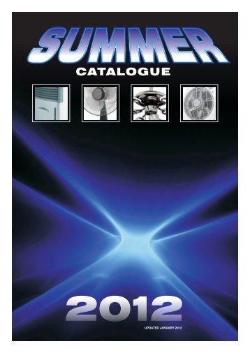 SUMMER CATALOGUE 2012 - NuWorld Industries
