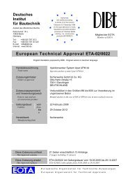 European Technical Approval ETA-02/0022
