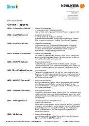 Gelcoat / Topcoat - Mühlmeier GmbH