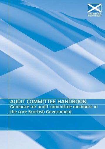 Audit Committee Handbook - Scottish Government