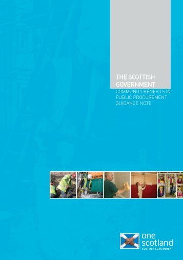 Community Benefits in Public Procurement Guidance Note - Scottish ...