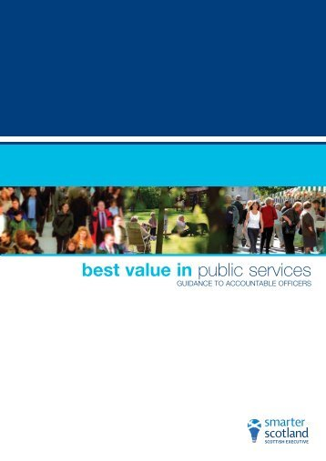best value in public services - Scottish Government
