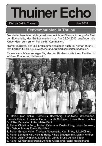 Thuiner Echo - Samtgemeinde Freren