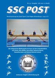 online lesen - Spiel Sport Club Hagen Ahrensburg