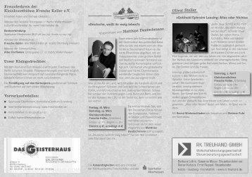 Programm FK 5 Jahre - Fresche Keller