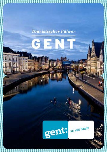 Touristischer Führer - Visit Gent