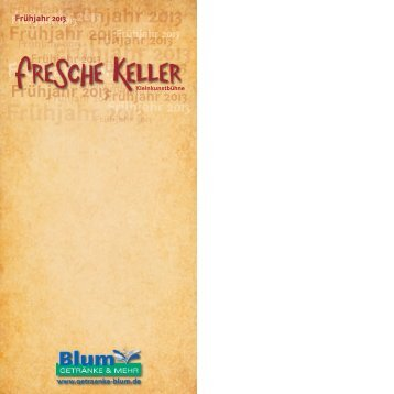 schön bunt - Fresche Keller