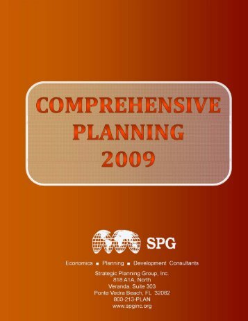 Comprehensive Planning - Strategic Planning Group, Inc.