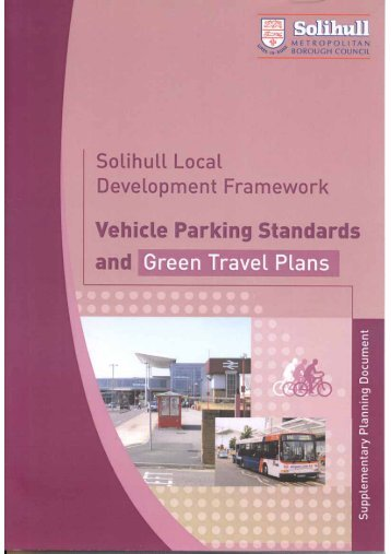 Supplementary Planning Document Vehicle Parking Standards and ...