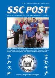 SSC Hagen Ahrensburg - Spiel Sport Club Hagen Ahrensburg