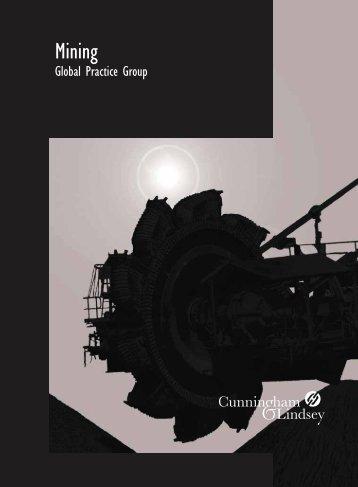 Draft Mining SPG Brochure:Layout 1.qxd - Cunningham Lindsey