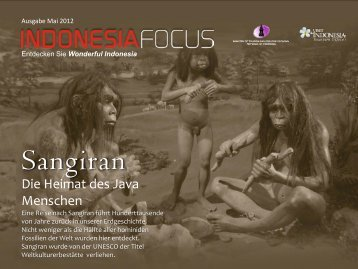 Sangiran - Tourismus Indonesien