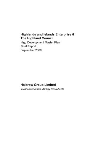 Nigg Development Masterplan - The Highland Council