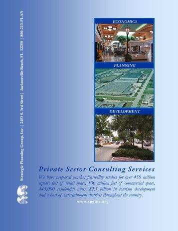 Private Sector Consulting Services Brochure - 2007 - Strategic ...