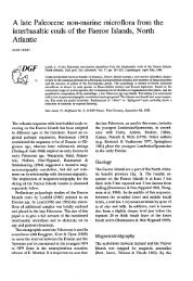 Bulletin of the Geological Society of Denmark, Vol - Dansk ...