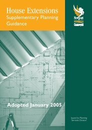 House Extensions Supplementary Planning Guidance