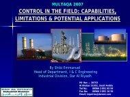 Download presentation 8 (pdf) - Fieldbus Foundation