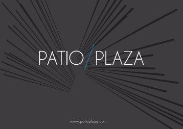 Télécharger la plaquette (PDF) - Patio Plaza