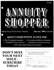 Jul. 1990 - Annuity Shopper Magazine