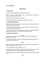 Publikationsliste Wendel - UK-Online
