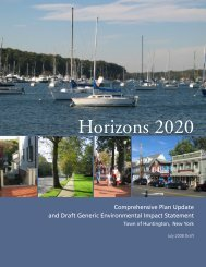 Horizons 2020 - The Town of Huntington, New York