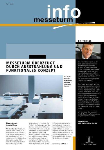 pdf-File jetzt downloaden - Messeturm Basel