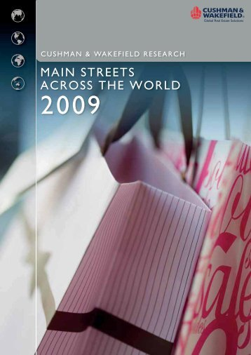 main streets across the world 2009