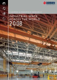 INDUSTRIAL SPACE ACROSS THE WORLD