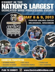 MAY 8 & 9, 2013 - Welcome to Expo Productions, Inc.