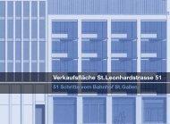 Verkaufsfläche St.Leonhardstrasse 51 - Hugo Steiner-Haus