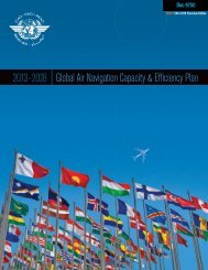 Draft Global Air Navigation Capacity & Efficiency Plan - ICAO