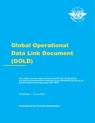 (Global Operational Data Link Document) (GOLD 1ST - ICAO