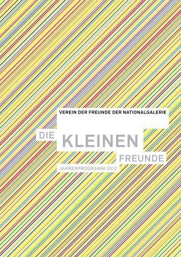 KLEINEN - Verein der Freunde der Nationalgalerie