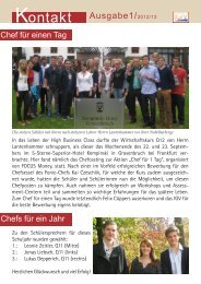 Kontakt Ausgabe1/2012/13 - Homepage - Neu-Ulm
