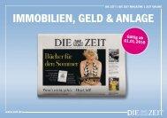 immobilien, GelD & anlaGe - Die Zeit