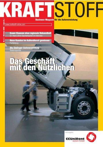 Das Geschäft mit den Nützlichen - Kraftstoff – Business-Magazin