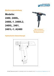 HUCK 2480 - Heyman Manufacturing GmbH